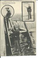 Crime D'Usseau-1905-Sergent Genty Blessé-Gendarme Masteau Et Gendarme Fuseau - Chatellerault