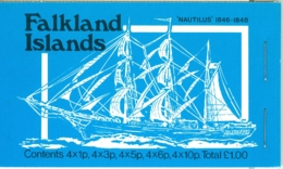 Falkland Is: 1979   Mail Ships Stamp Booklet  SG SB3      MNH - Falklandinseln