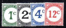 APR377 - BRITISH GUYANA 1940 , Segnatasse   Yvert  N. 1/4  ***  MNH    (2380A) - Guyane Britannique (...-1966)