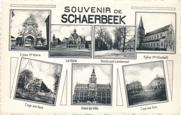 CP - Belgique - Brussels - Bruxelles - Souvenir De Schaerbeek - Schaarbeek - Schaerbeek