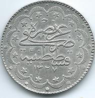 Turkey - Ottoman - Mohammed V - AH1327 / 7 (1915) - 10 Kurus - KM751 - Turkije