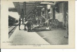 Chateau -Thierry-Nos Braves Alliés-La Gare-evacuation Des Blessés Américains 1918 - Chateau Thierry