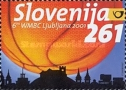ESLOVENIA 2001 - SLOVENIE - CAMPEONATO DEL MUNDO DE BASKETBALL - YVERT Nº 327C** - Slovénie