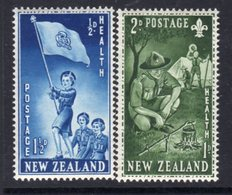 New Zealand 1953 Health Stamps Set Of 2, MNH, SG 719/20 - New Zealand