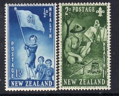New Zealand 1953 Health Stamps Set Of 2, Hinged Mint, SG 719/20 - New Zealand