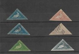 Cabo De Buena Esperanza. Conjunto De 6 Sellos Diferentes - Sellos