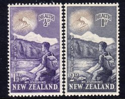 New Zealand 1954 Health Stamps Set Of 2, MNH, SG 737/8 - New Zealand