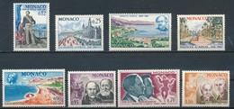 °°° MONACO - Y&T N°690/97 - 1966 MNH °°° - Monaco