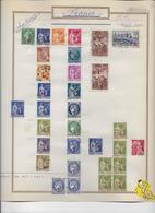 France Oblitérés Collection 1940/191949 - 32 Scans - France