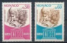 °°° MONACO - Y&T N°700/1 - 1966 MNH °°° - Monaco