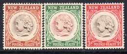 New Zealand 1955 Health Stamps Set Of 3, MNH, SG 742/4 - New Zealand