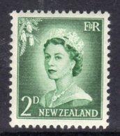 New Zealand 1955-9 Definitives Large Value Figures 2d Value, MNH, SG 747 - New Zealand