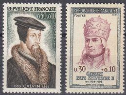 FRANCE Francia Frankreich - 1964 - Serie Completa Nuova MNH Composta Da 2 Valori: Yvert 1420/1421. - France