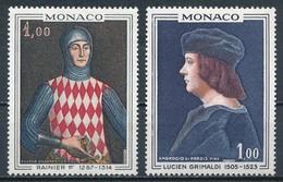 °°° MONACO - Y&T N°734/35 - 1967 MNH °°° - Monaco