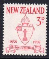 New Zealand 1958 Nelson City Centenary, Hinged Mint, SG 767 - New Zealand