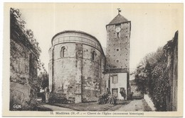 Madiran Chevet De L' Eglise Phot. G. Métreau Toulouse Editions GEM - France
