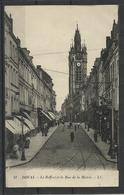 Douai (59) Ref  13 Beffroi  & La Rue De La Mairie - Douai