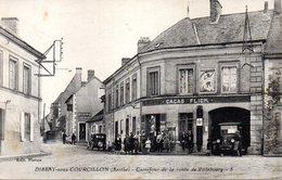 DISSAY Sous CORCILLON - CARREFOUR De La ROUTE De VILLEBOURG - - Autres Communes