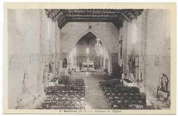 Madiran Intérieur De L' Eglise Phot. G. Métreau Toulouse Editions GEM - France