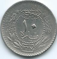 Turkey - Ottoman - Mohammed V - AH1327 / 5 (1911) - 10 Para - KM760 - Turkey