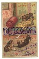 Bataille De Teckels Dans Le Salon. 1907 - Chiens