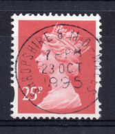 Great Britain - 1994 - 25p Machin Definitive (2Bands Issued 20/12/94) - Used - 1952-.... (Elizabeth II)
