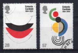 Great Britain - 2004 - Entente Cordiale Centenary - Used - 1952-.... (Elizabeth II)