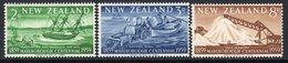 New Zealand 1959 Marlborough Centennial Set Of 3, Hinged Mint, SG 772/4 - New Zealand