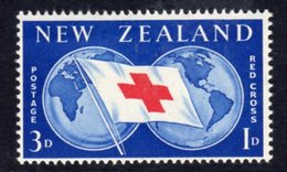 New Zealand 1959 Red Cross Commemoration, Hinged Mint, SG 775 - New Zealand