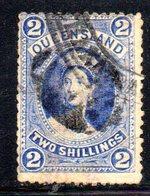 APR387 - QUEENSLAND 1882,  2 Sh Yvert N. 46 Usato   (2380A) - Nuovi