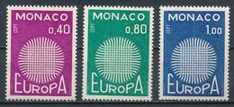 °°° MONACO - Y&T N°819/21 - 1970 MNH °°° - Monaco