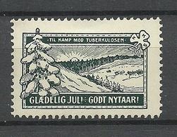 DENMARK Ca 1915 Christmas Weihnachten Wohlfahrt Gegen Tuberculosis * - Dänemark