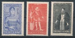 °°° MONACO - Y&T N°234/36 - 1942 MNH °°° - Monaco