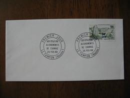 Réunion CFA  Enveloppe Cachet  FDC  1968  Alignements De Carnac - Reunion Island (1852-1975)