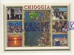 Italie. Chioggia Litorale Veneziano. Carte Mosaïque New Graphic Ganzaroli & C. - Chioggia
