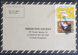 1984, IRAN, Medicine Digest, Carte Response, Isfahan, Esfahān - London - Iran