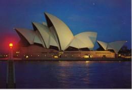Opera House By Night, Sydney, New South Wales - Unused Prepaid PC - Sydney