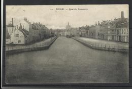 Douai (59 ) Ref 7 Recto Verso  Quai Du Commerce - Douai