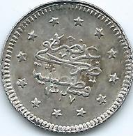 Turkey - Ottoman - Mohammed V - AH1327 / 2 (1910) - 1 Kurus - KM748 - Türkei