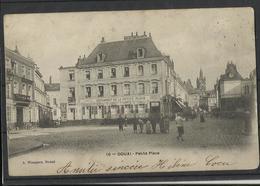 Douai (59 ) Ref 10 Recto Verso  Petite Place - Douai