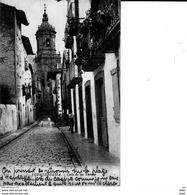 Espagne :  Fuenterrabia  : Calle De Las   Tiendas  . - Espagne
