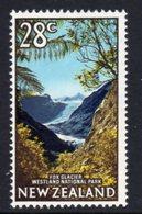 New Zealand 1967-70 28c Fox Glacier Definitive, MNH, SG 878 - Unused Stamps