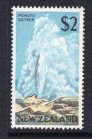 New Zealand 1967-70 $2 Pohutu Geyser Definitive, MNH, SG 879 - Unused Stamps