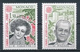 °°° MONACO - Y&T N°1224/25 - 1980 MNH °°° - Monaco