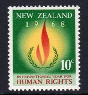 New Zealand 1968 Human Rights Year, MNH, SG 891 - Unused Stamps