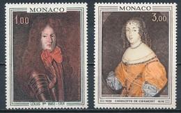 °°° MONACO - Y&T N°845/46 - 1970 MNH °°° - Monaco