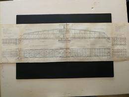 ANNALES DES PONTS Et CHAUSSEES ( Dep 13) - Plan Du Viaduc Sur L'étang De Caronte - Imp A.Gentil- 1915 (CLC71) - Travaux Publics