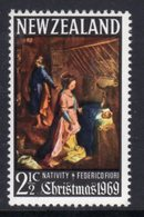 New Zealand 1969 Christmas, MNH, SG 905 - Unused Stamps