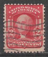 United States 1908. Scott #319Fk (U) George Washington, President * - Gebruikt
