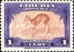 MINT  STAMPS Liberia - Fauna-1942 - Liberia